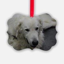 Kuvasz Dog Ornament