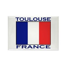 Toulouse, France Rectangle Magnet