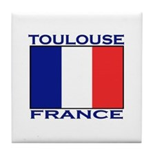Toulouse, France Tile Coaster