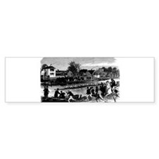 Vintage English Regatta Bumper Sticker