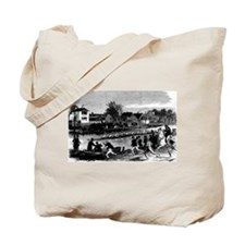 Vintage English Regatta Tote Bag