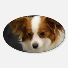Cute Papillon Dog Decal