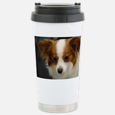 Cute Papillon Dog Travel Mug