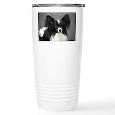 Black and White Papillo Travel Mug