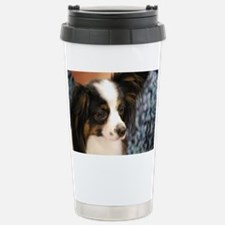 Butterfly Dog Travel Mug