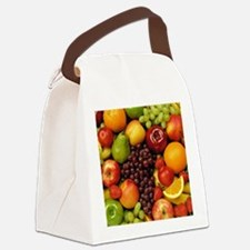 Mixed Fruits  Canvas Lunch Bag