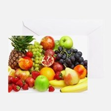 Mixed Fruits Greeting Card