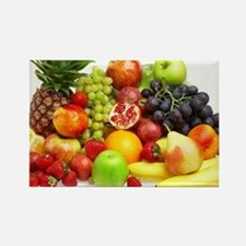 Mixed Fruits Rectangle Magnet