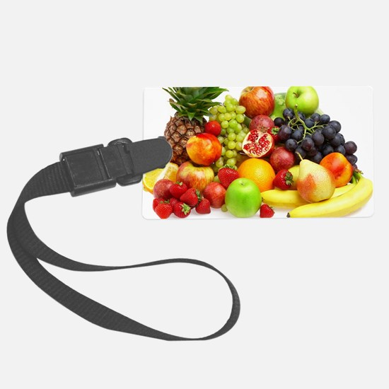 Mixed Fruits Luggage Tag
