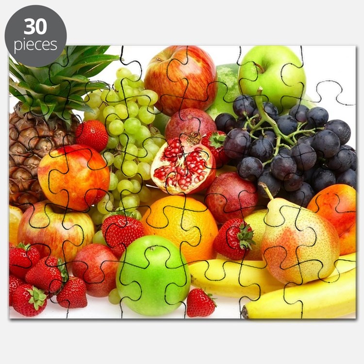 Mixed Fruits Puzzle