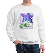 Purple Iris Jumper