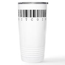 Bitcoin Barcode Travel Mug