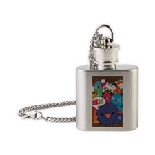 Hi hello !!! Flask Necklace