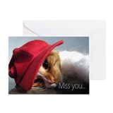 Productsfunny i miss you Greeting Cards