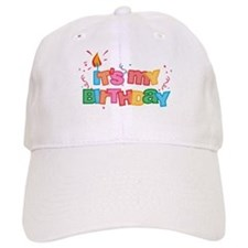 It's My Birthday Letters Baseball Cap
