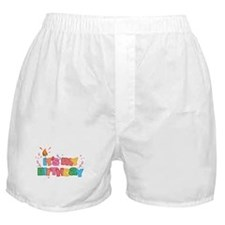 It's My Birthday Letters Boxer Shorts