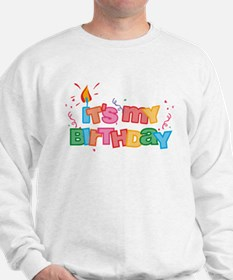 It's My Birthday Letters Sweatshirt