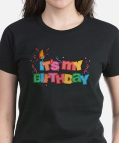 It's My Birthday Letters Tee