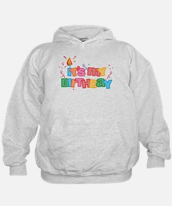 It's My Birthday Letters Hoodie
