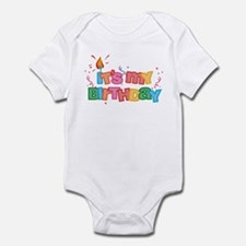 It's My Birthday Letters Infant Bodysuit