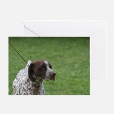 Cute German Short Haired Pointer Greeting Card