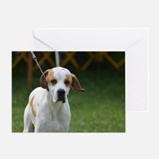 Sweet Portuguese Pointer Greeting Card