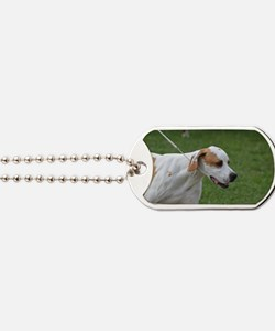 Profile of a Portuguese Pointer Dog Tags