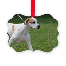Portuguese Pointer Puppy Ornament