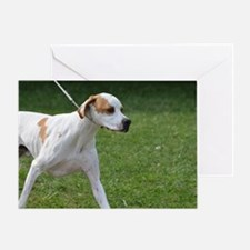 Portuguese Pointer Puppy Greeting Card