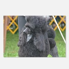 Poised Poodle Postcards (Package of 8)