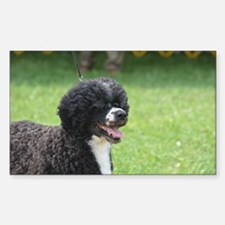 Adorable Dog Sticker (Rectangle)