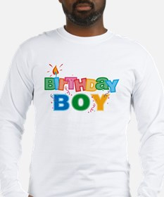 Birthday Boy Letters Long Sleeve T-Shirt