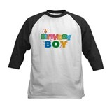 Birthday girl letters kids Baseball Jersey