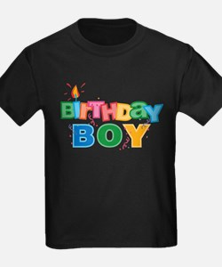 Birthday Boy Letters T