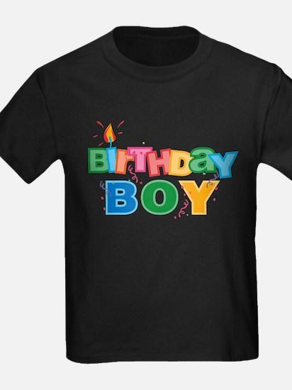 Birthday Boy Letters T