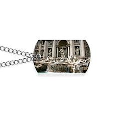 Trevi Fountain (Fontana di Trevi) -Rome Dog Tags