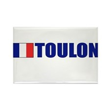 Toulon, France Rectangle Magnet (10 pack)