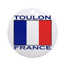 Toulon, France Ornament (Round)