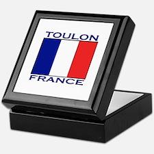 Toulon, France Keepsake Box