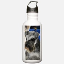 Schnauzer Sports Water Bottle