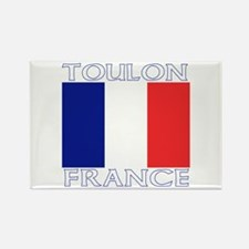 Toulon, France Rectangle Magnet