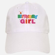 Birthday Girl Letters Baseball Baseball Cap