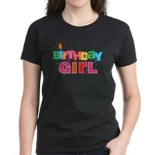 Birthday Girl Letters Tee