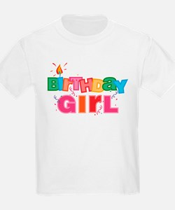 Birthday Girl Letters T-Shirt
