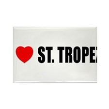 I Love St. Tropez, France Rectangle Magnet (10 pac