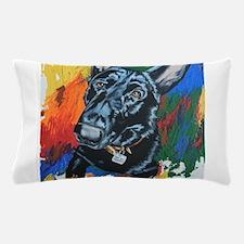 Grafitti German Shepherd Pillow Case