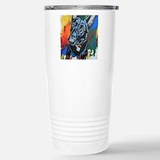 Grafitti German Shepherd Travel Mug
