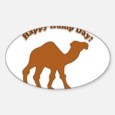 Hump day! Happy Hump day! Decal