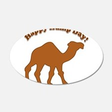 Hump day! Happy Hump day! Wall Decal