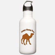 Hump day! Happy Hump day! Water Bottle